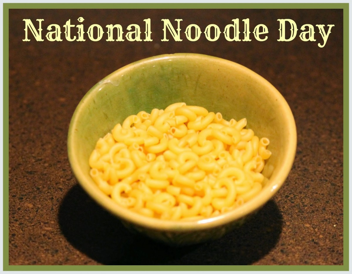 Small Business Restaurant Industry May Capitalize on National Noodle Day